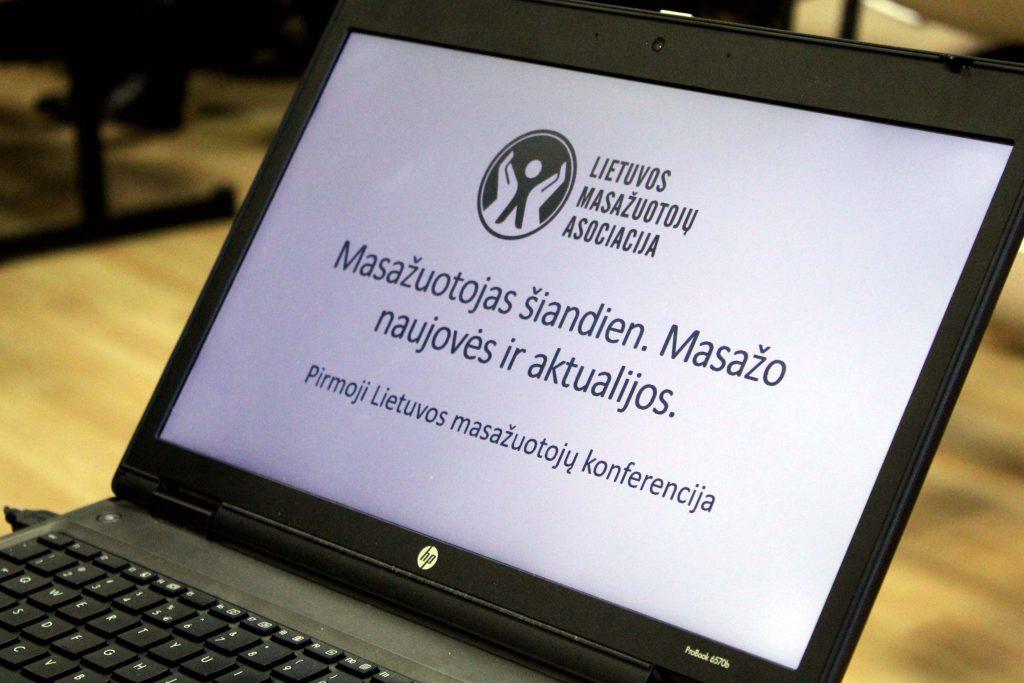 Pirmoji Lietuvos masažuotojų konferencija